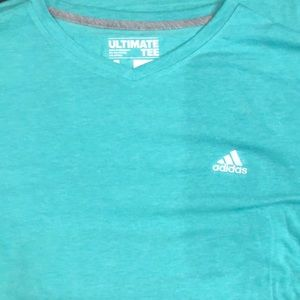 Large green Adidas ultimate tee